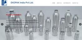 EKOPAK India Pvt Ltd - Aluminium Bottle Manufacturer
