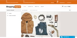Shopping Signal - Online Store