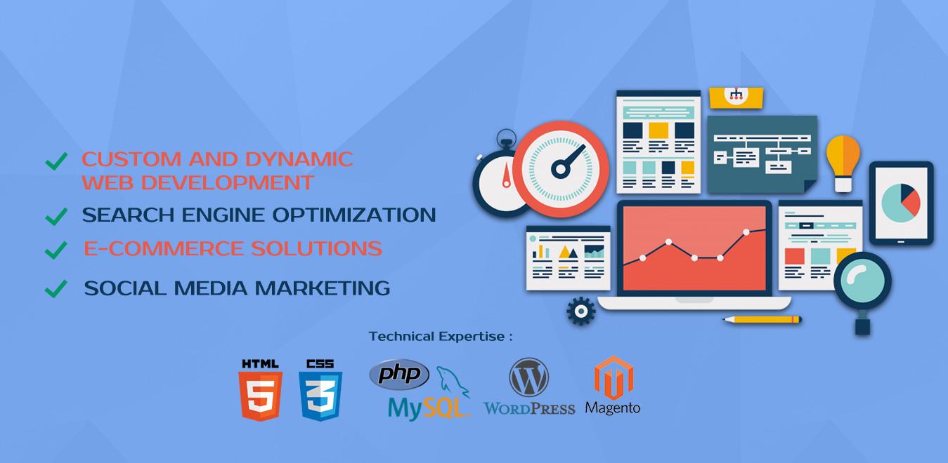 Web Development | SEO (Search Engine Optimization) | Ecommerce Solutions | IT services | Social Media Marketing